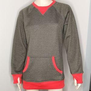 Burton Brooklyn Crew Fleece Shirt Kangaroo Pocket